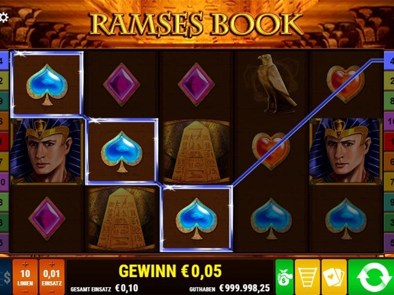 Spielen Sie Ramses Book kostenlos im Demo Mode von Gamomat